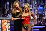 Sara Jean Underwood as Wonder Woman - Attack of the Show - February 17, 2011