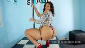 Scarlett Chocolate Models Thick Latina Dancers