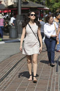 Emmy Rossum at The Grove in Los Angeles 06/14/14