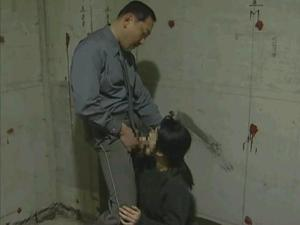 Prisoner forced sex in jail