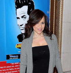 "Rosie Perez @ Opening Night of ""Ghetto Klown"" at Lyceum Theater In NYC"