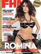 Ромина Беллуцио, фото 10. Romina Belluscio - FHM Spain - Jan 2011 (x12), photo 10